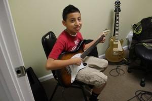 Antonio's Cort Guitar