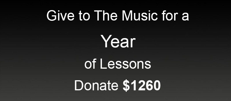 Donate 1 Year of Lessons